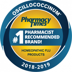 Oscillococcinum Pharmacy Times #1 Pharmacist Recommended Brand! Homeopathic Flu Products 2018-2019